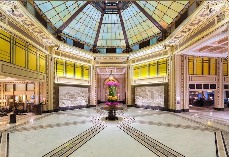 Fairmont Peace Hotel, Shanghai, Lobby