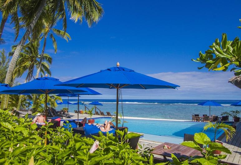 Manuia Beach Resort, Rarotonga, Outdoor Pool