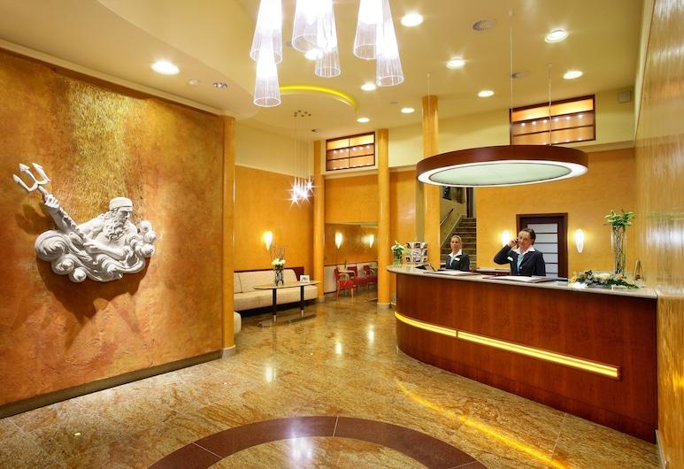 Adria Hotel Prague, Praga, Saguão