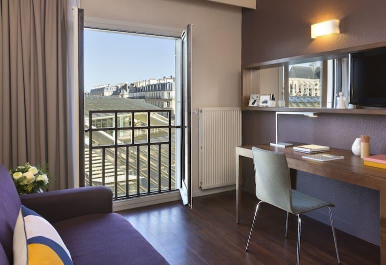 Citadines Les Halles Paris, Paris, Apartment, Room