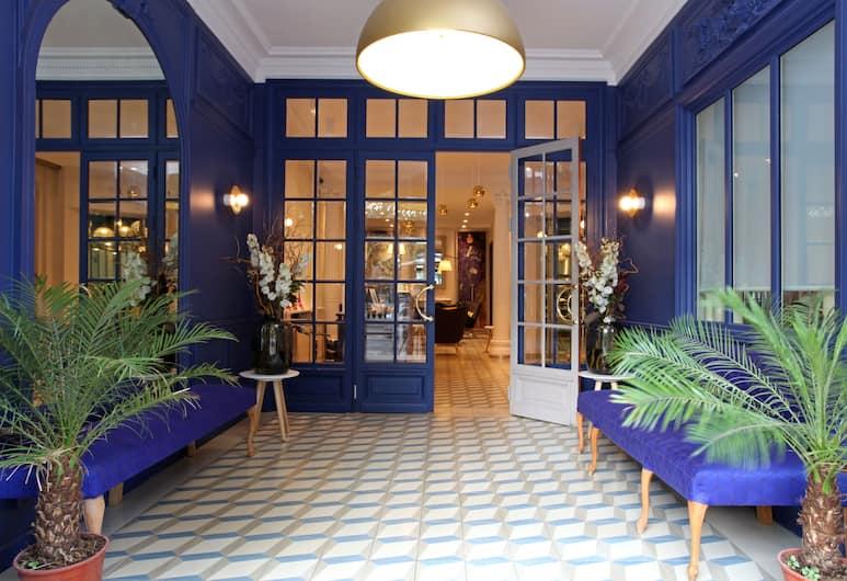 리틀 팰리스 호텔, 파리, 내부 입구