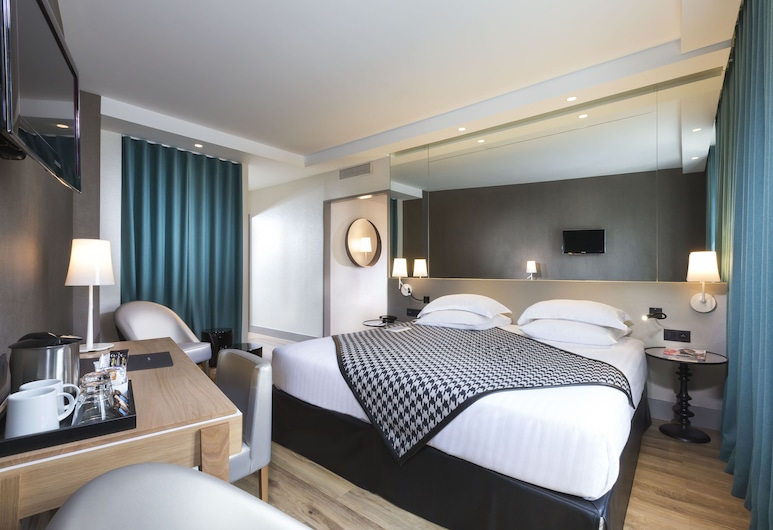 Hotel Acanthe, Boulogne-Billancourt, Deluxe Δίκλινο Δωμάτιο (Double), Δωμάτιο επισκεπτών