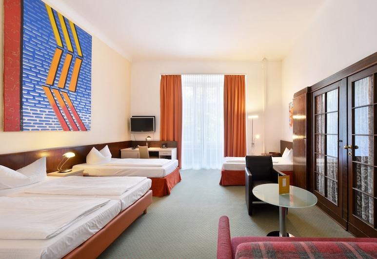 Hotel Tiergarten Berlin, Berlin, Vierbettzimmer, Zimmer
