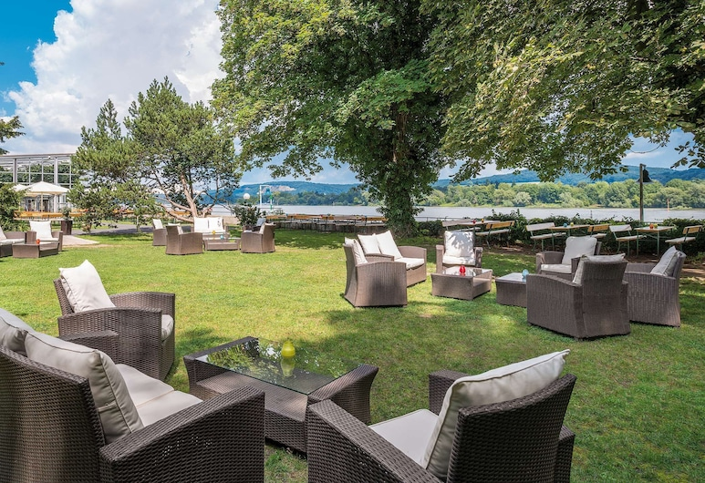 Ringhotel Rheinhotel Dreesen, Bonn, Giardino