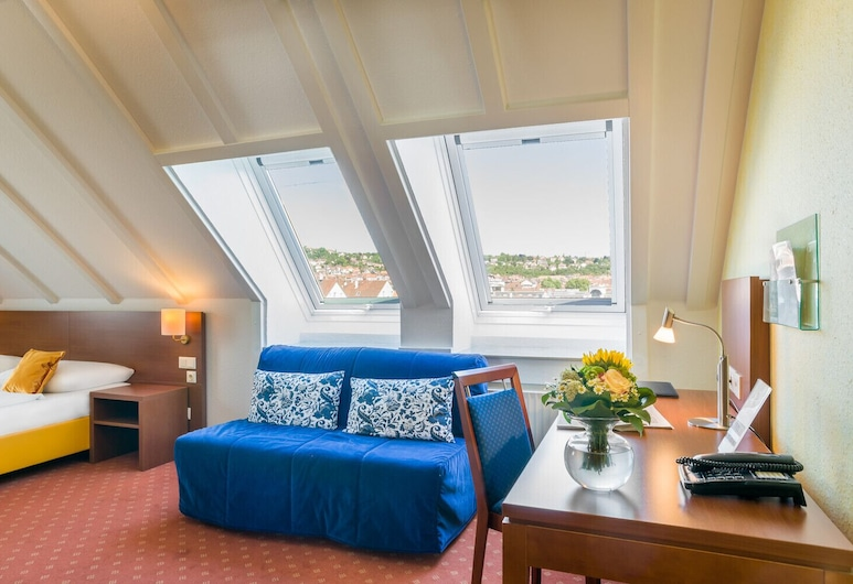 Novum Rega Hotel Stuttgart, Stuttgart, Comfort-værelse til 3 personer, Værelse