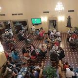 Salonek ve vstupní hale