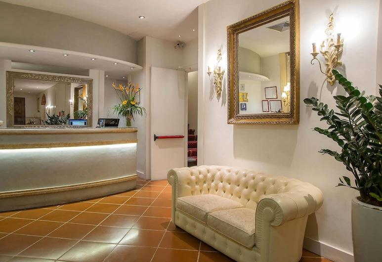 Hotel Atlantic Palace, Florencija, Registratūra