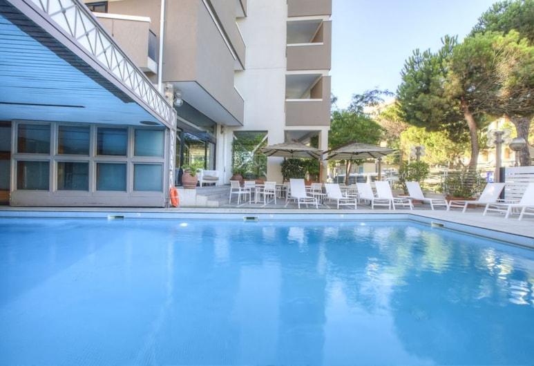 Hotel Imperiale, Rimini, Vonkajší bazén