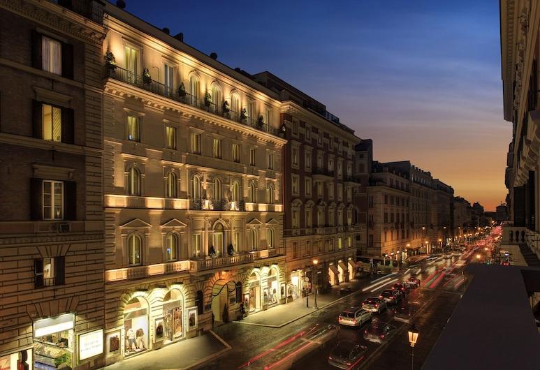 Hotel Artemide, Rome, Hotel Front – Evening/Night