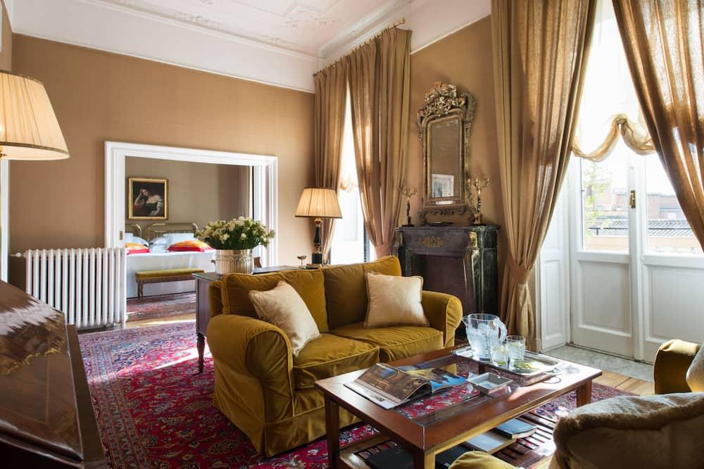 Executive Suite, Terrace - Living Area