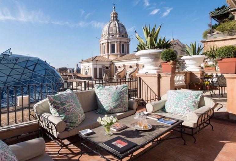 グランド ホテル プラザ, ローマ