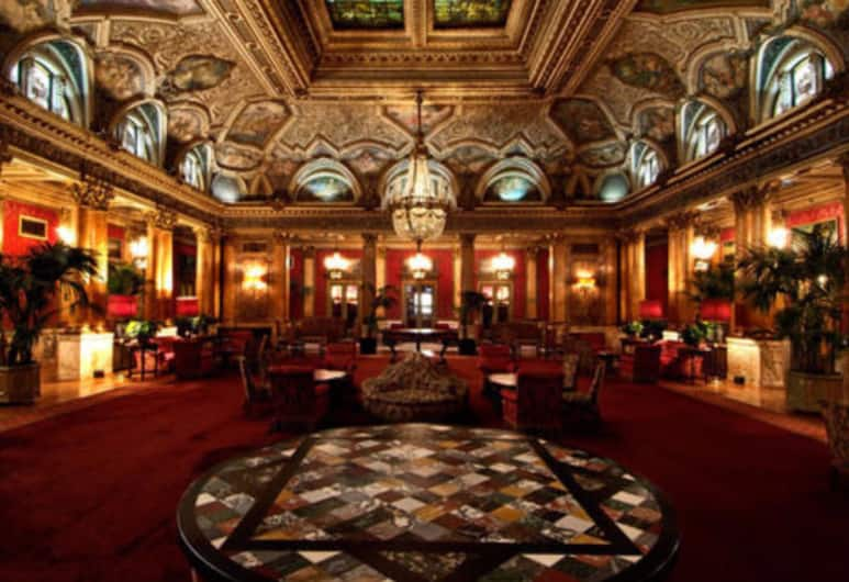 Grand Hotel Plaza, Rome, Lobby