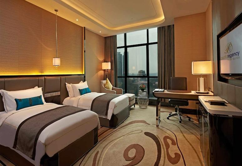 Pacific Regency Hotel Suites, Kuala Lumpur, Premier dubbelrum (Executive), Gästrum