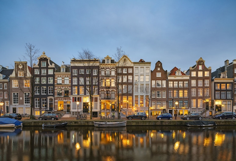 Ambassade Hotel, Amsterdam, Hotel Front – Evening/Night