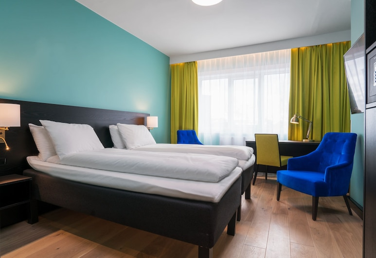 Thon Hotel Europa, Oslo, Standard tvåbäddsrum - 2 enkelsängar - icke-rökare, Gästrum