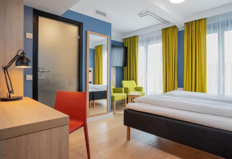 Thon Hotel Astoria, Oslo, Dobbeltrom – standard, 1 dobbeltseng, ikke-røyk, Gjesterom