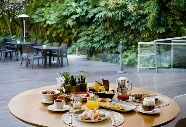 Ayre Gran Hotel Colon, Madrid, Frukostområde