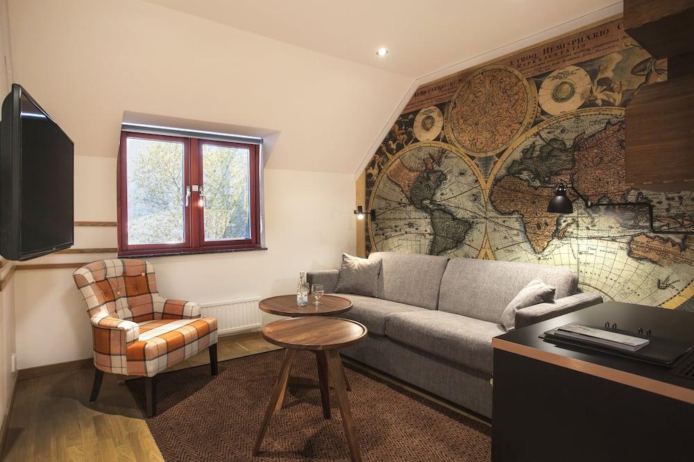 Habitación familiar (+ Sofa bed 80 cm and extra bed) - Sala de estar
