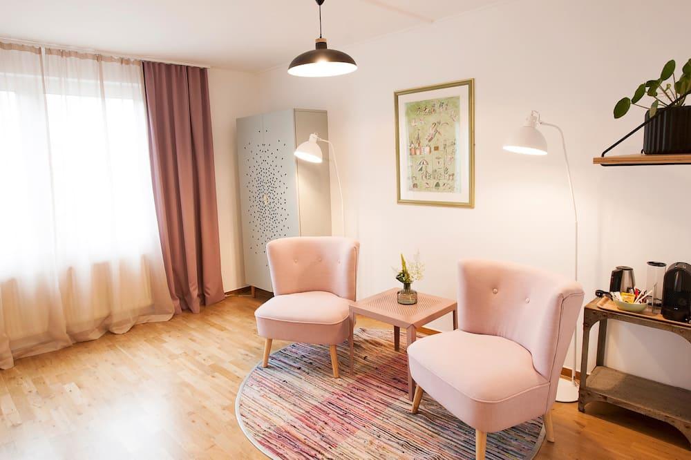 套房, 1 張標準雙人床, 非吸煙房 - 客廳