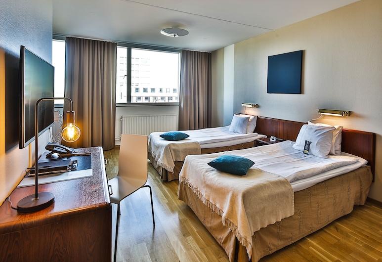 First Hotel Jörgen Kock, Мальме, Стандартный двухместный номер с 2 односпальными кроватями, Номер
