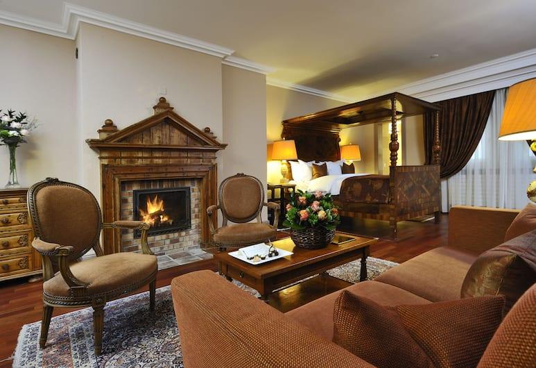 호텔 드 라 시고뉴, 제네바, 주니어 스위트, 객실