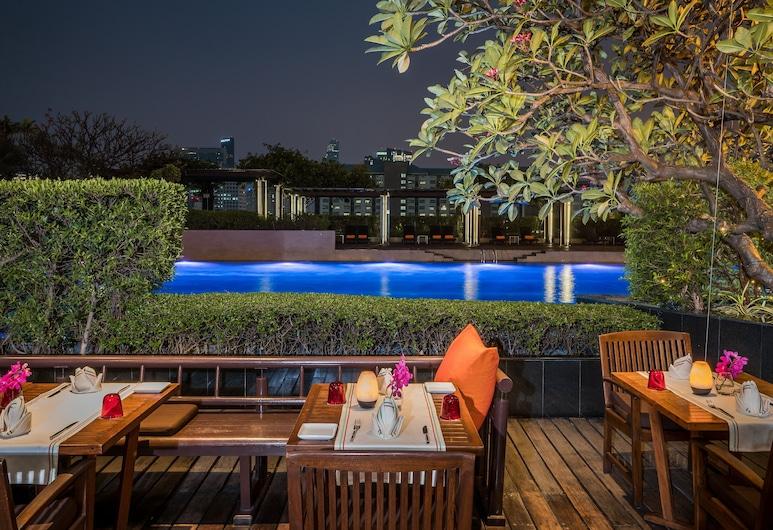 Pathumwan Princess Hotel, Bangkok, Teras/Veranda