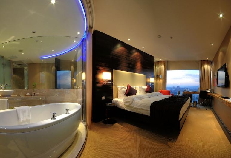 Grand Ankara Hotel & Convention Center, Анкара, Стандартный двухместный номер с 1 двуспальной кроватью, Номер