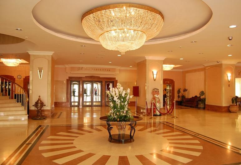 Hotel Uzbekistan, Tashkent, Lobby