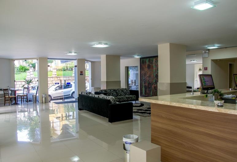 Florianópolis Palace Hotel, Florianopolis, Sittområde i lobbyn