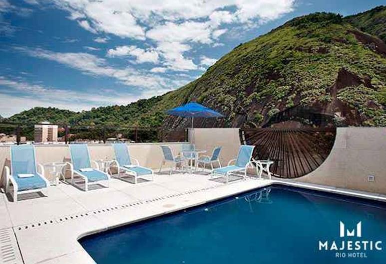 Majestic Rio Palace Hotel, ריו דה ז'ניירו, מרפסת גג
