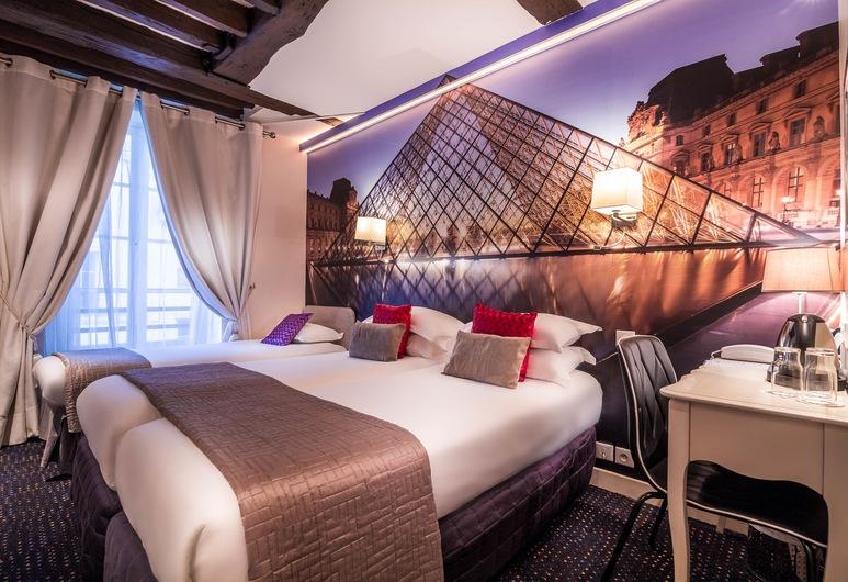 Hotel Ascot Opera, Paris, Chambre Triple, Chambre