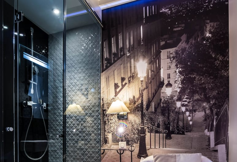 호텔 애스코트 오페라, 파리, 싱글룸, 객실