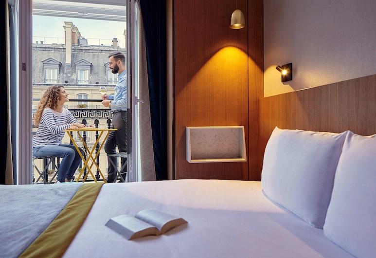 巴黎加尼葉歌劇院美居酒店, 巴黎, 經典雙床房, 多張床, 客房