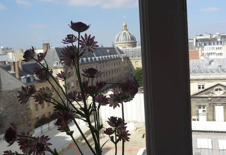 Hotel Prince De Conti, Paris, Classic dobbeltrom, 1 dobbeltseng, Utsikt mot byen