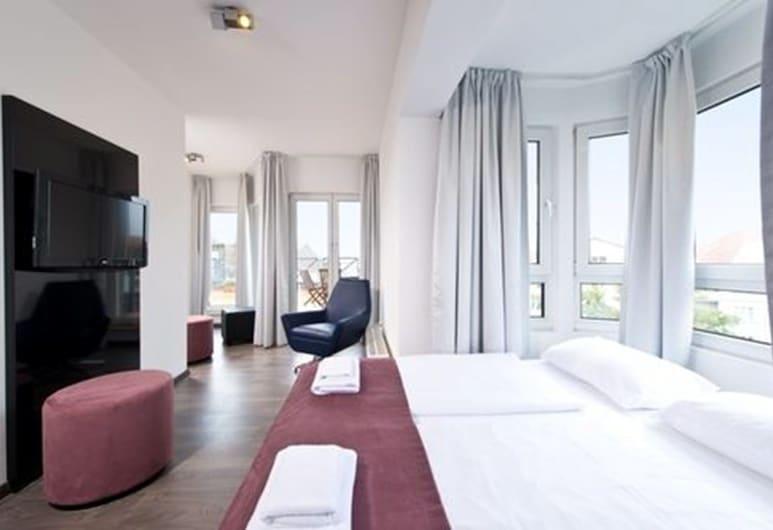 Alfa Hotel, Berlín, Habitación estándar con 1 cama doble o 2 individuales, Habitación