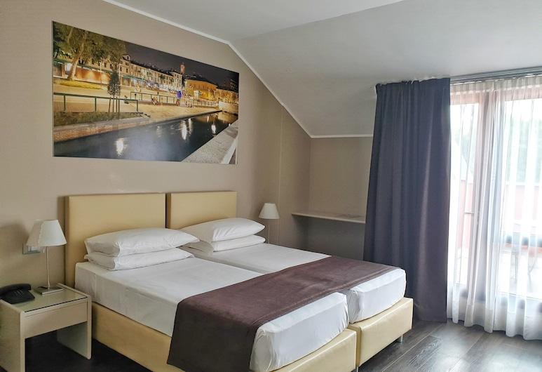 Hotel Palazzo delle Stelline, Milaan, Kamer, 1 twee- of 2 eenpersoonsbedden, Kamer