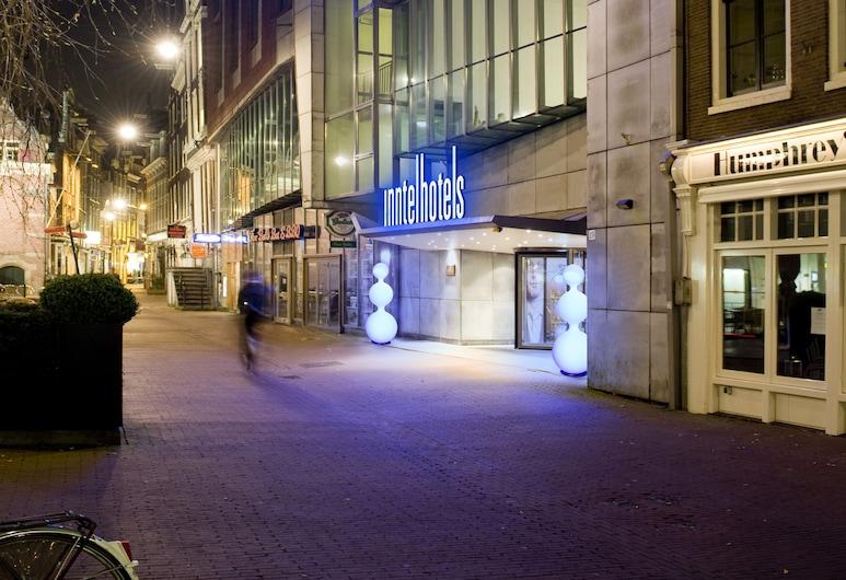阿姆斯特丹中心因特爾酒店, 阿姆斯特丹, 酒店入口 - 夜景