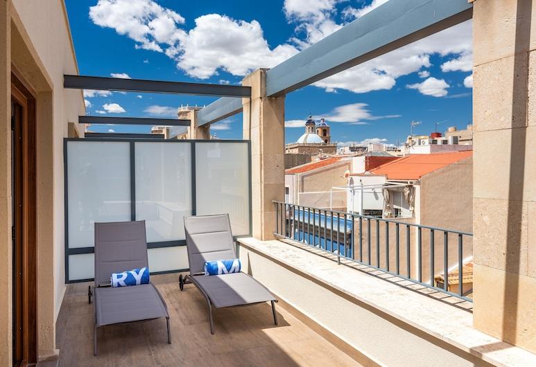 TRYP Ciudad de Alicante Hotel, Alicante, Premium Room, Terrace, Bilik Tamu