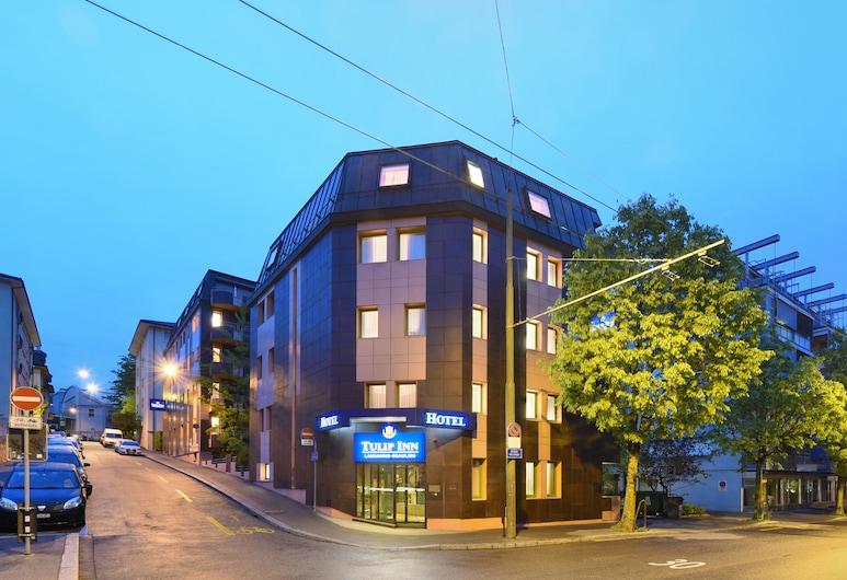 Tulip Inn Lausanne Beaulieu, Lausanne, Fachada do Hotel - Tarde/Noite
