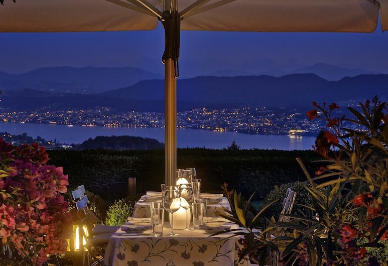 Sorell Hotel Zürichberg, Zürich, Restoran na otvorenom