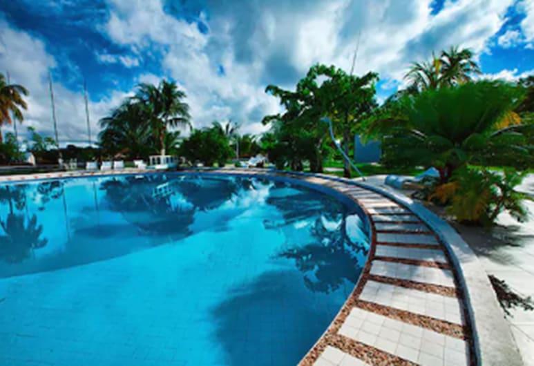 Barrudada Tropical Hotel, แซนเทอเรม, ห้องน้ำ