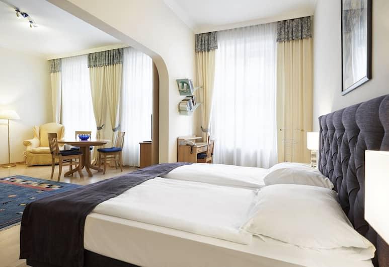 德池美斯特酒店, 維也納, 開放式客房, 客房