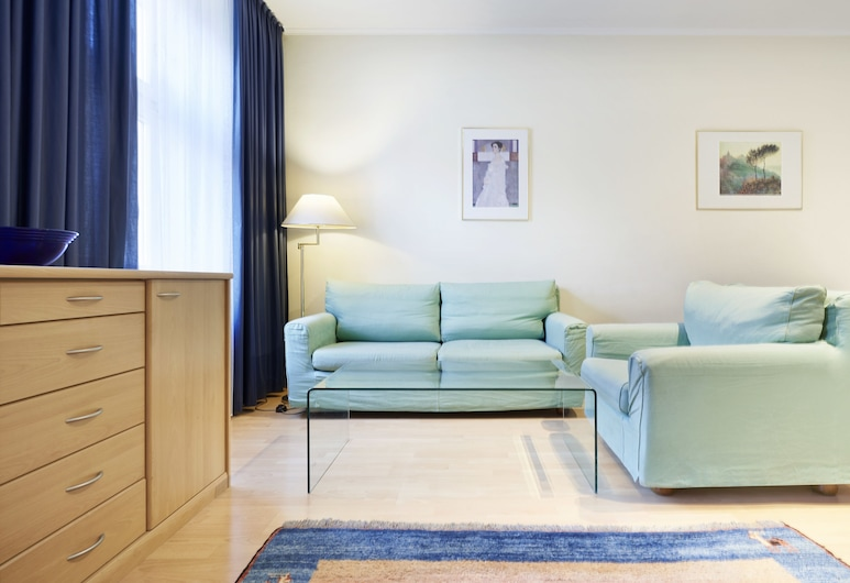 Hotel Deutschmeister, Βιέννη, Διαμέρισμα, 1 Υπνοδωμάτιο, Δωμάτιο επισκεπτών