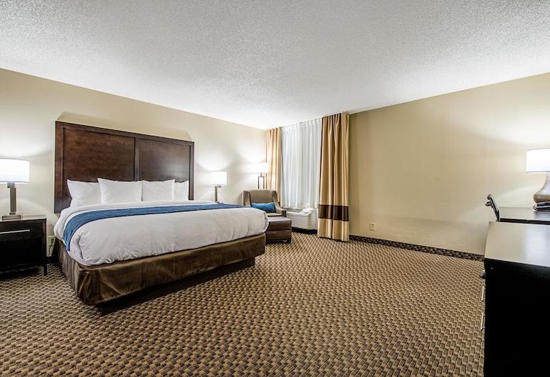 麥特森-芝加哥凱富飯店, 馬特森, 標準客房, 1 張特大雙人床, 非吸煙房, 客房