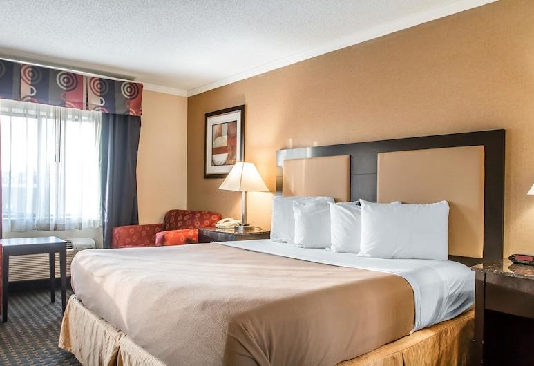 Quality Inn, Hoffman Estates, Suite, 1 cama de matrimonio grande, no fumadores, Habitación