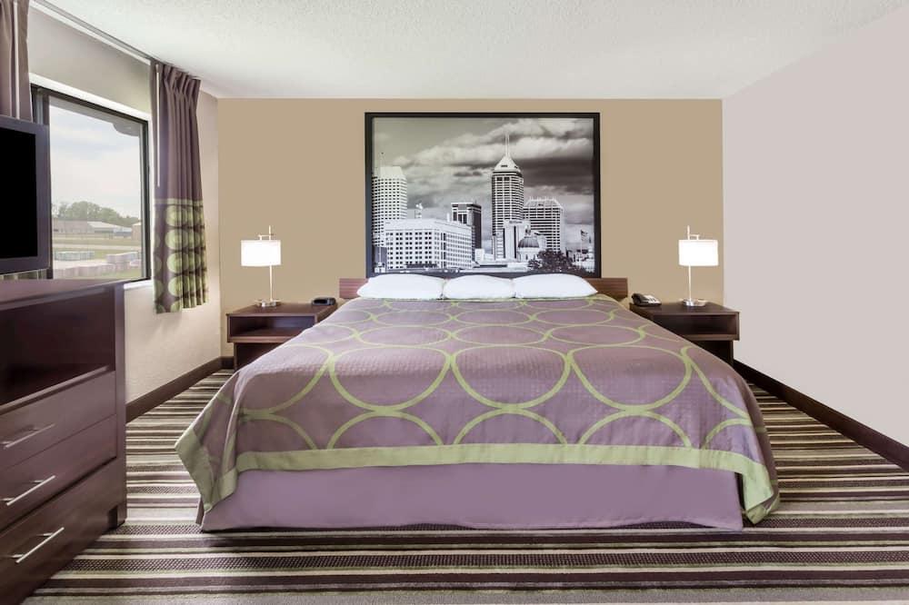 Studijos tipo numeris, 1 labai didelė dvigulė lova, Nerūkantiesiems - Svečių kambarys