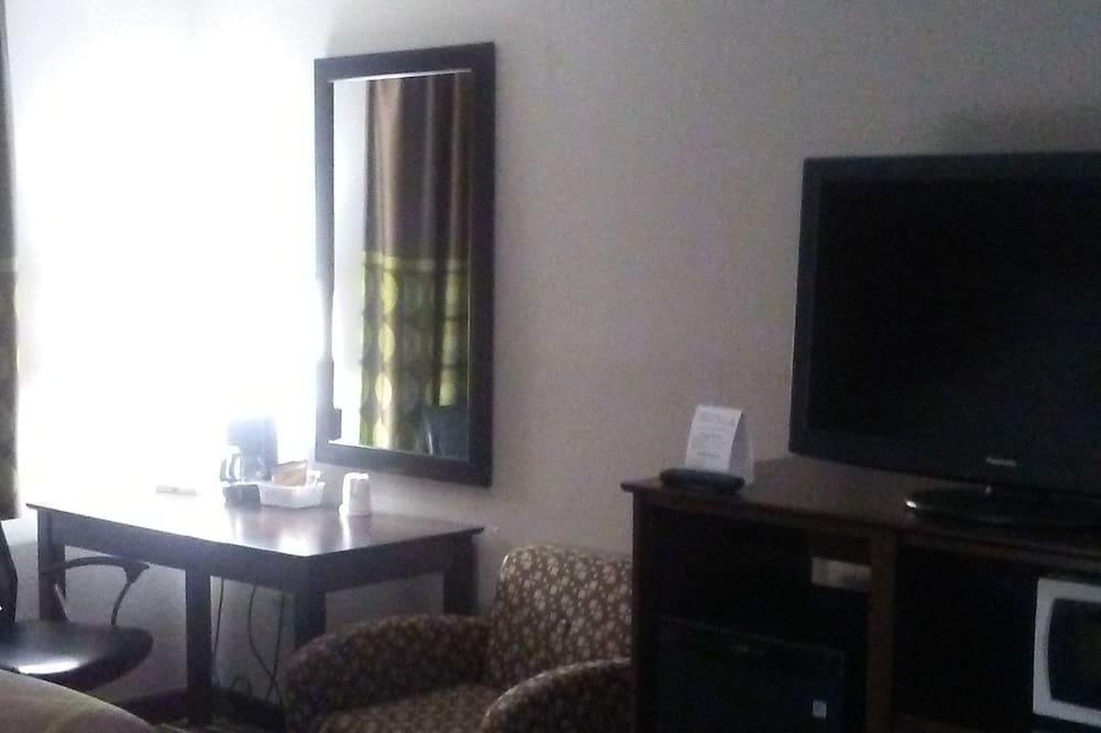 Kambarys, 2 didelės dvigulės lovos, su patogumais neįgaliesiems, Nerūkantiesiems (Mobility) - Mažas šaldytuvas