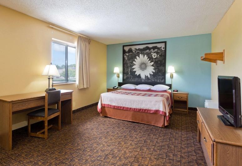 Super 8 by Wyndham Lexington Park/California Area, Kalifornie, Studiové apartmá, dvojlůžko (200 cm), Pokoj