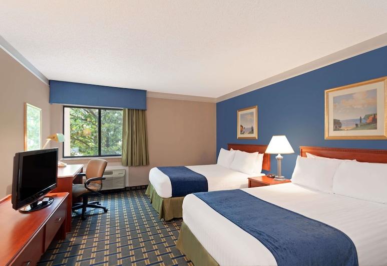 Baymont by Wyndham Memphis East, ממפיס, חדר, 2 מיטות זוגיות, למעשנים, חדר אורחים