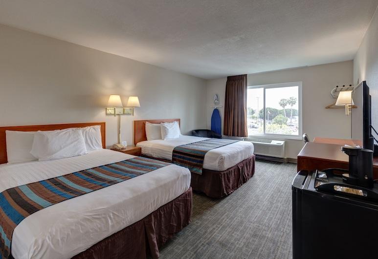 卡拉巴薩斯美好夜間旅館, 阿苟拉丘, 客房, 2 張加大雙人床, 客房